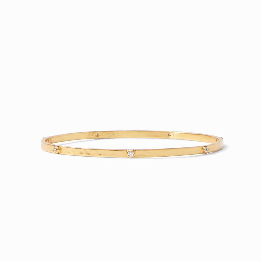 Julie Vos Crescent Bangle-Cubic Zirconia
