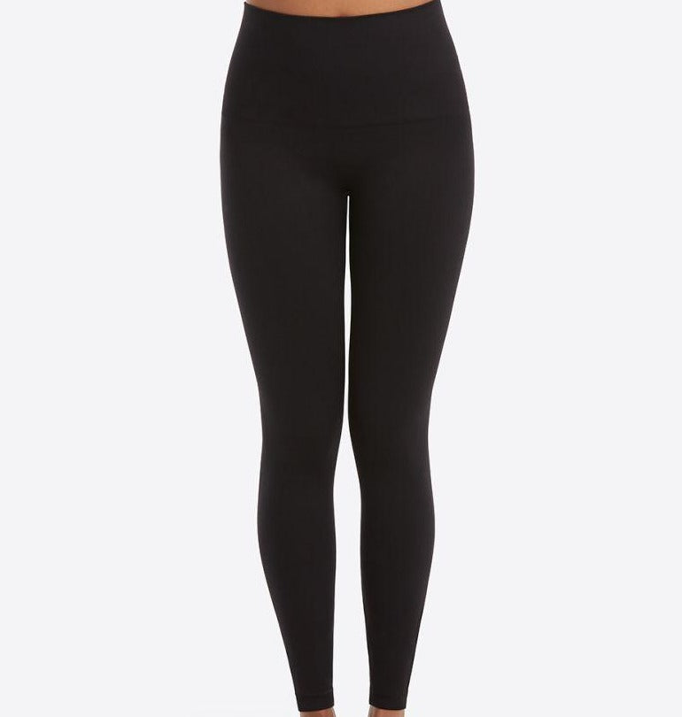 Spanx Look At Me Now Seamless Legging-Very Black
