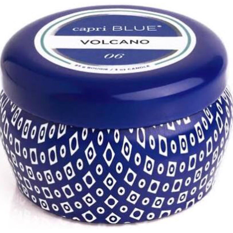 Capri Blue Volcano Mini Travel Tin