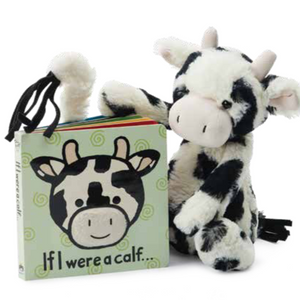 Bashful Calf & If I Were a Calf Book