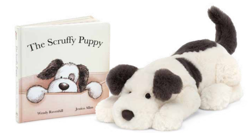 Dashing Dog & The Scruffy Puppy Book