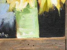"Load image into Gallery viewer, Sun Dollies 2, Oil on Wood, 17"" x 14"""