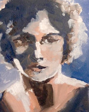 Load image into Gallery viewer, The Movie Star II, Oil Sketch of a Woman, 5 x 7