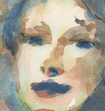 Load image into Gallery viewer, Angel, Watercolor on Paper