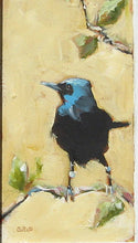 "Load image into Gallery viewer, Wild Bird, 26"" x 13"", Oil on Wood"