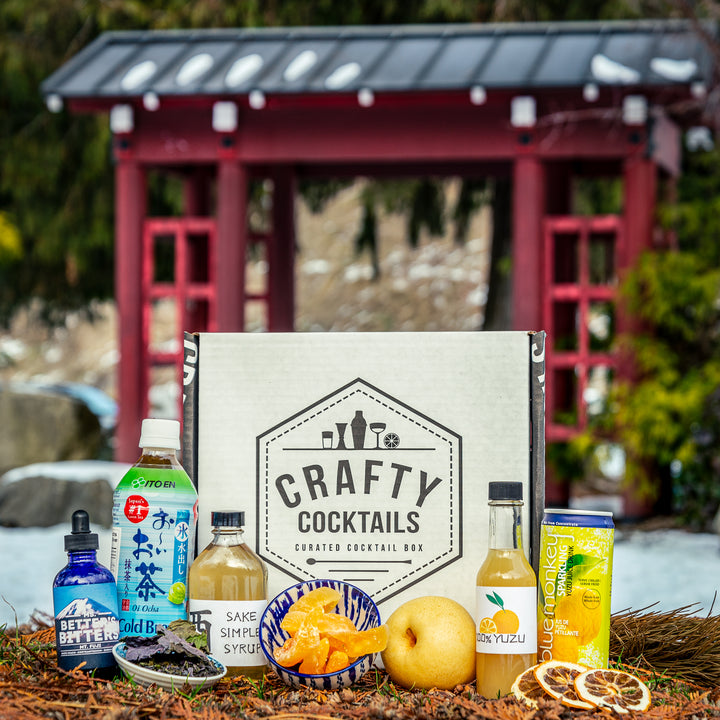 Japanese Whisky Cocktail Box (March 2021)
