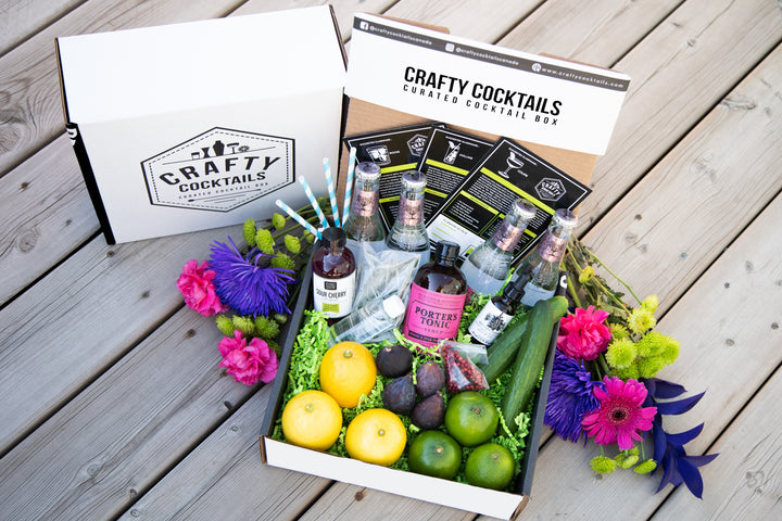 Gin for the Win (July 2019) - Gin Cocktail Box - Crafty Cocktails