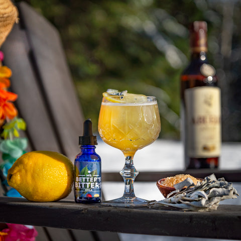 The Panama Libre Cocktail - Abuelo Anejo and Better's Bitters