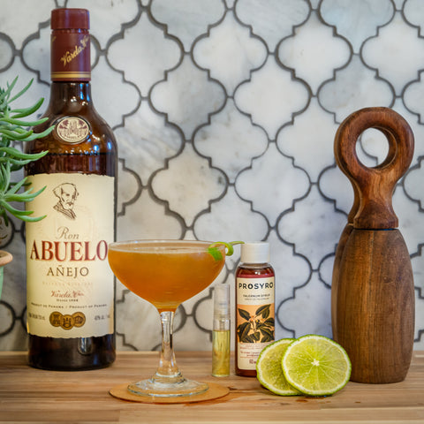 Femme Fatale Cocktail with Abuelo Anejo