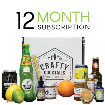 1 Year Cocktail Box Subscription