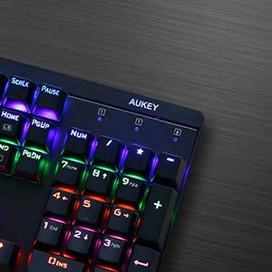 AUKEY KM-G6 104 Key LED-Backlit Mechanical Keyboard