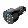 AUKEY CC-T11 3-Port 42W Quick Charge 3.0 Car Charger