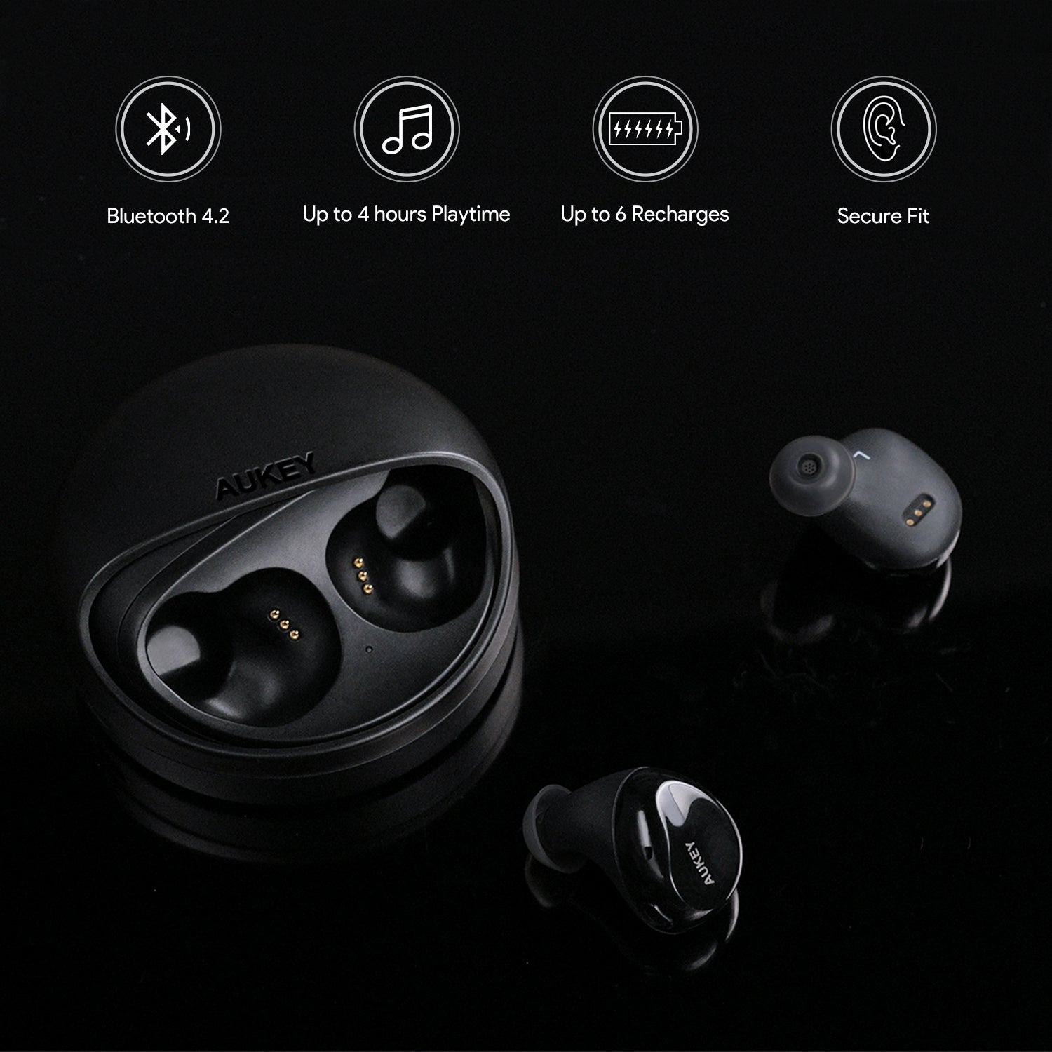 AUKEY EP-T1 True Wireless Stereo Earbuds
