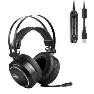 AUKEY GH-S5 Virtual 7.1-Channel RGB Gaming Headset