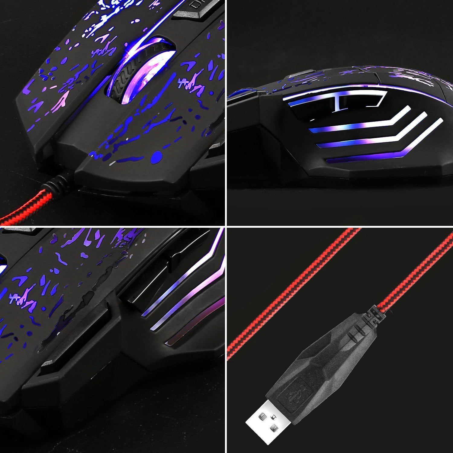AUKEY KM-C1 RGB Gaming Mouse