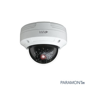 PAR-C4DRIR: 4 Megapixel, Outdoor Dome