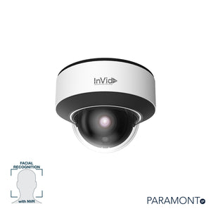 PAR-P5DRIRN: 5 Megapixel IP Dome, Fixed Lens