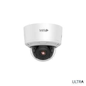 ULT-P8DRXIRM2812: 8 Megapixel Outdoor Dome, Motorized Lens