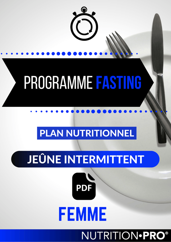 programme nutritionnel jeûne intermittent homme - FASTING
