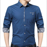 Combo of 3 Fashionable Casual Long Sleeve Pocket Slim Fit Shirts for Men