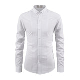 Combo of 3 Branded Luxury Stylish Slim Fit with Long Sleeve Shirts for Men