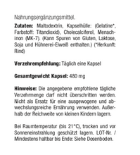 Laden Sie das Bild in den Galerie-Viewer, Vitamin D3 + K2