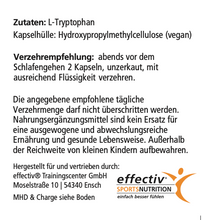 Laden Sie das Bild in den Galerie-Viewer, L-Tryptophan 500mg
