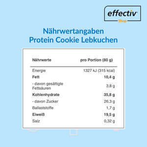 Protein Cookie - Lebkuchen *Limited Edition* 2er Pack