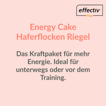 Laden Sie das Bild in den Galerie-Viewer, Energy Cake Haferflocken Riegel - Vanille