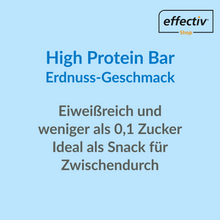 Laden Sie das Bild in den Galerie-Viewer, High Protein Bar - Erdnuss