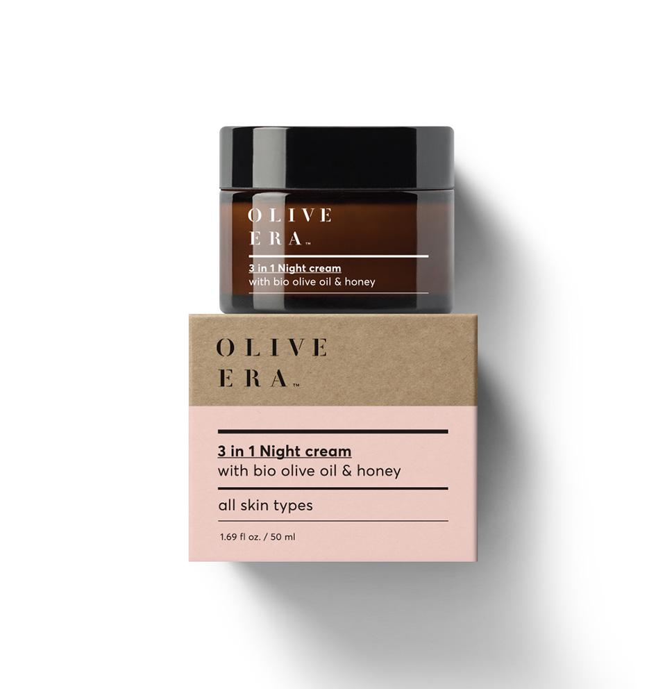 OLIVE ERA 3 in 1 Night cream