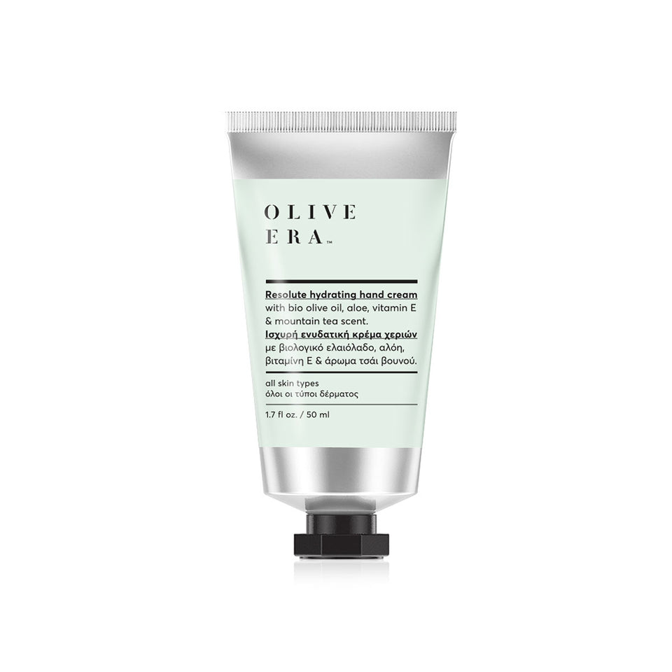 Hand cream  with bio olive oil, aloe & mountain tea scent 50ml