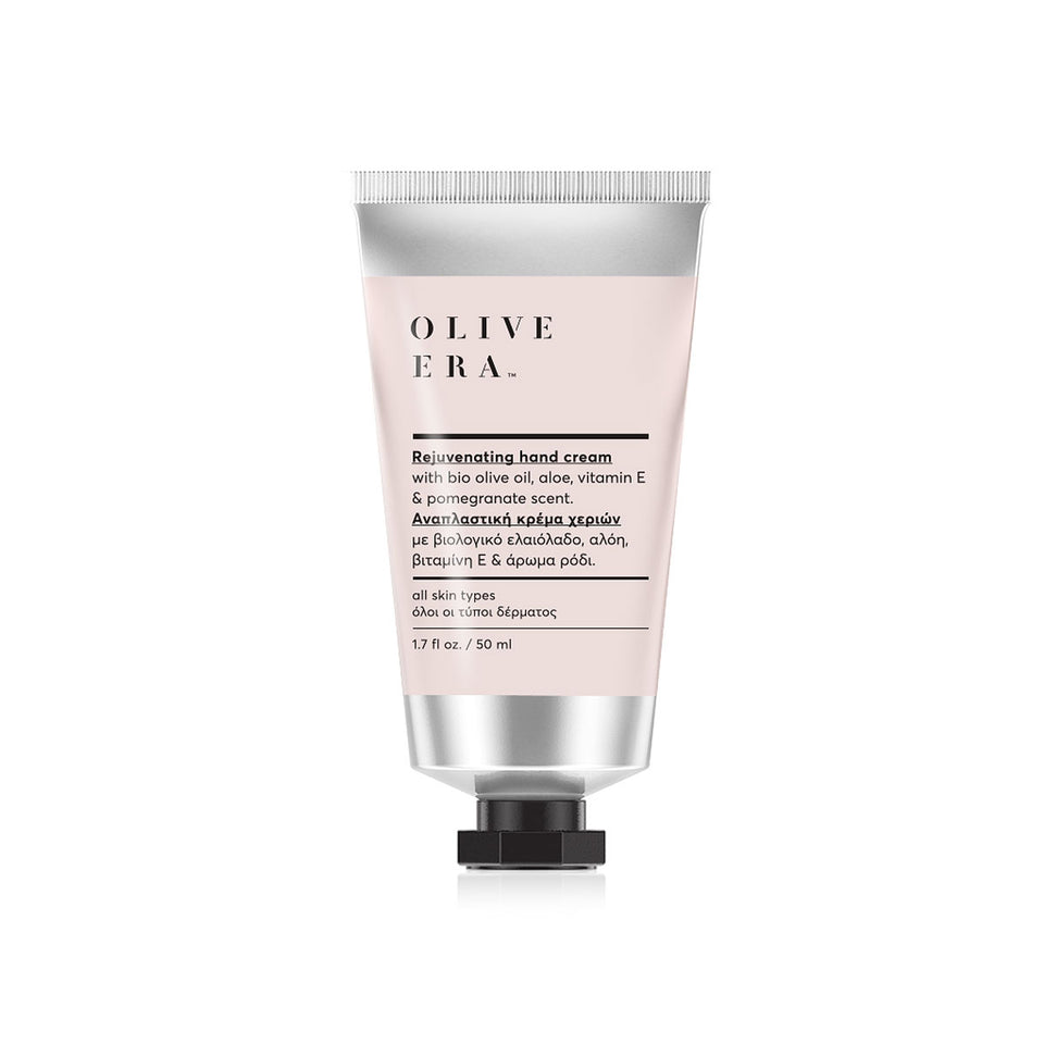 Hand cream  with bio olive oil, aloe & pomegranate scent 50ml
