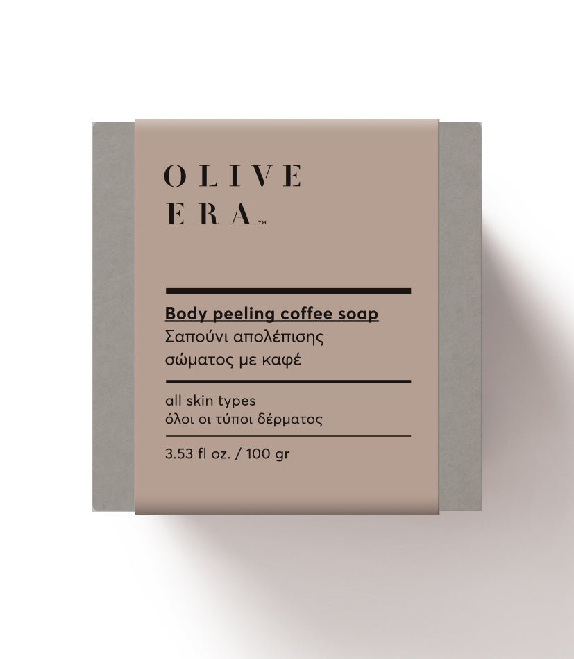 Body peeling coffee soap 100gr
