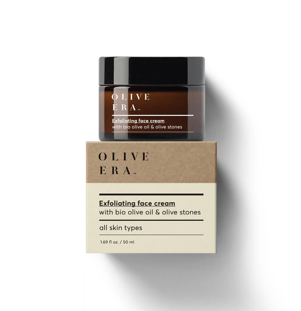 OLIVE ERA Exfoliating face cream