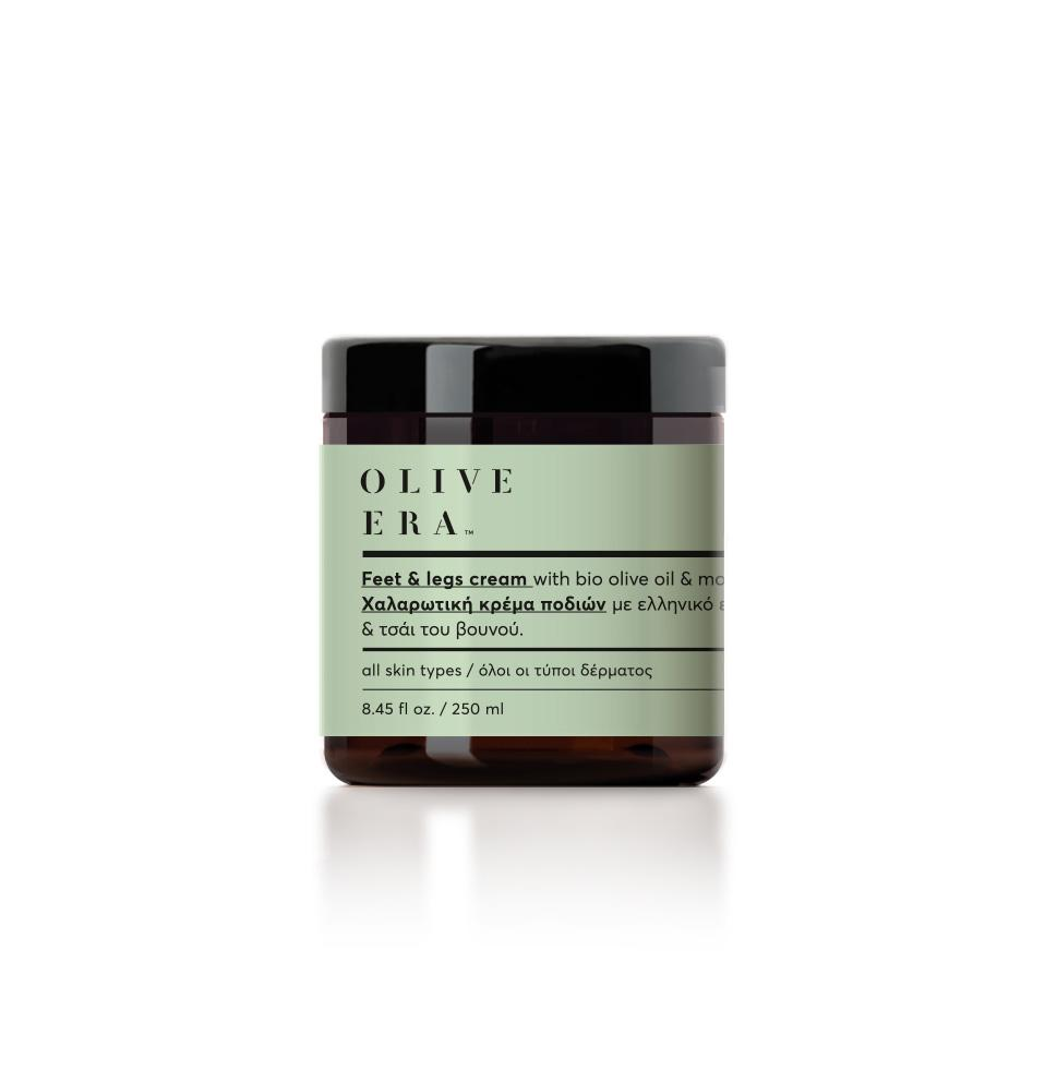 OLIVE ERA Feet & legs cream with mountain tea extract