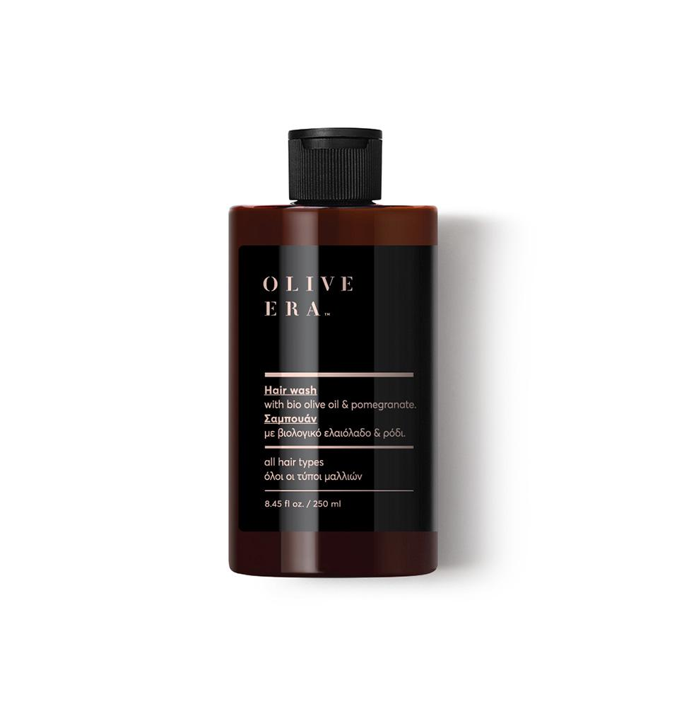 OLIVE ERA Shampoo, bio olive oil, pomegranate