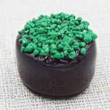 St. Patrick's Day Chocolate with Sprinkles