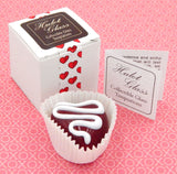 Cherry Heart Chocolate with Drizzle