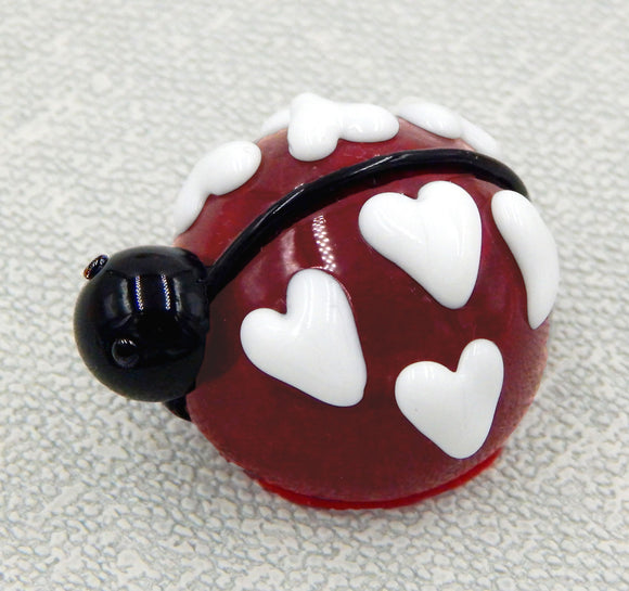 Cherry Red Love Bug Ladybug Chocolate