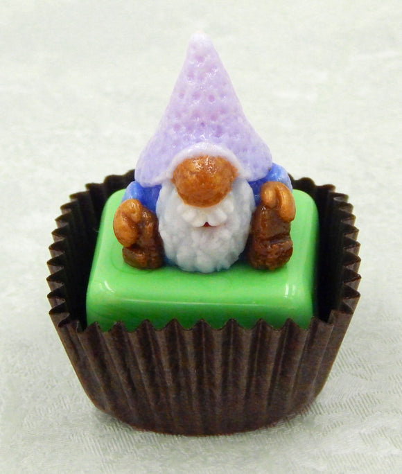 Gnome with Lavender Hat Petit Four