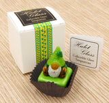 St. Patrick's Gnome with Green Hat Petit Four