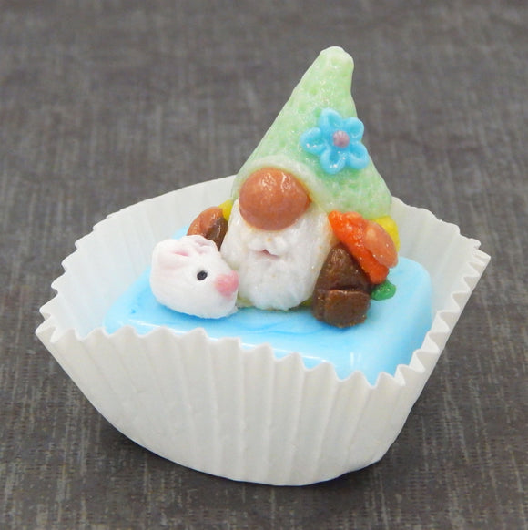 Easter Gnome Petit Four Chocolate Treat
