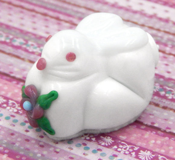 White Chocolate Bunny Rabbit