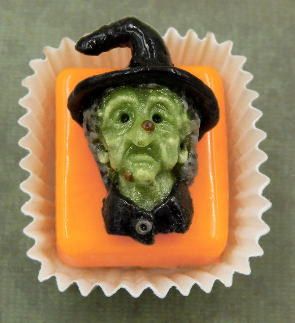 Evil Witch Petit Four Chocolate Treat