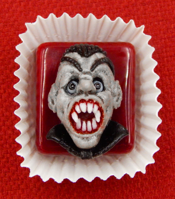 Hideous Vampire Petit Four Chocolate Treat