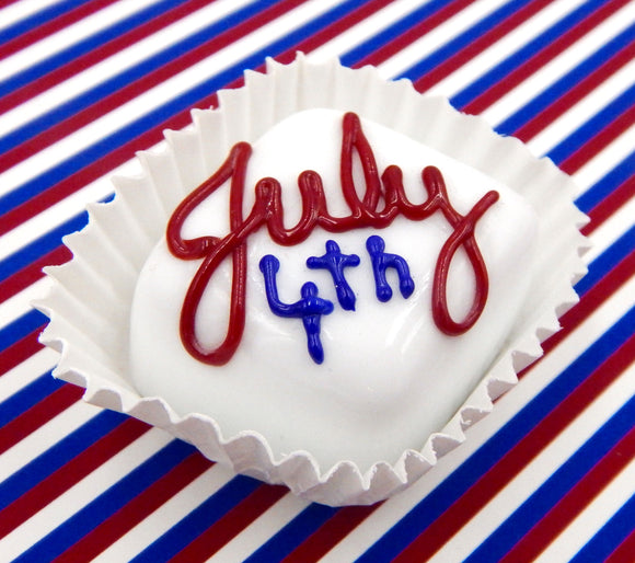 White Chocolate 'July 4th' Treat