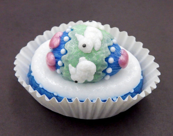 Bunny Rabbit Easter Egg Petit Four