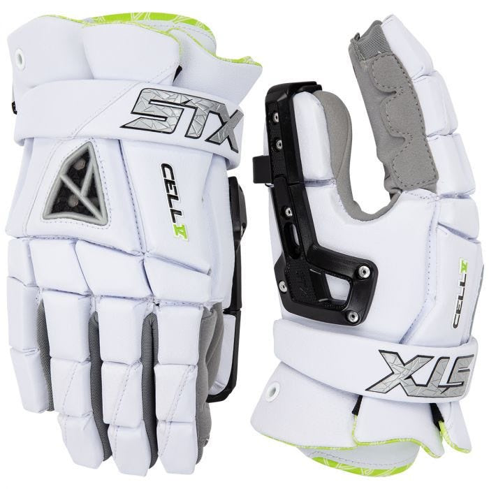 STX Cell V Goalie Glove White