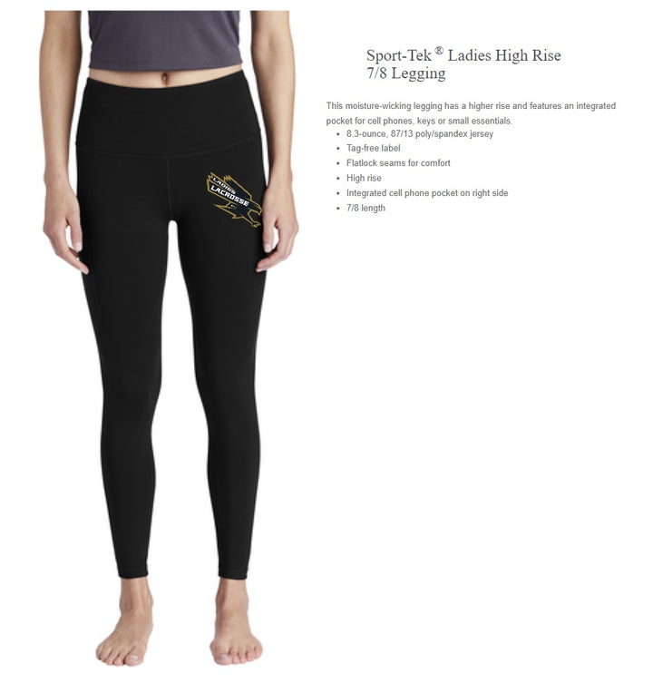 Vallivue Girls Sports-Tek Tights 7/8 LPST891